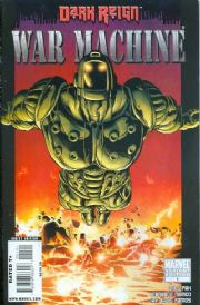War Machine #1 Villain Variant (2008) Dark Reign Marvel comic book